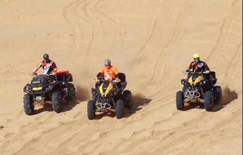 Sắp khởi tranh giải đua xe địa hình trên cát đầu tiên tại Việt Nam