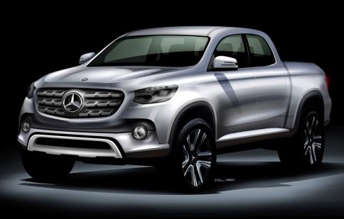 Mercedes-Benz hợp tác với Nissan sản xuất xe bán tải