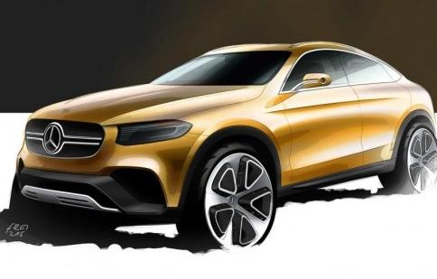 Mercedes-Benz phác thảo đối thủ BMW X4
