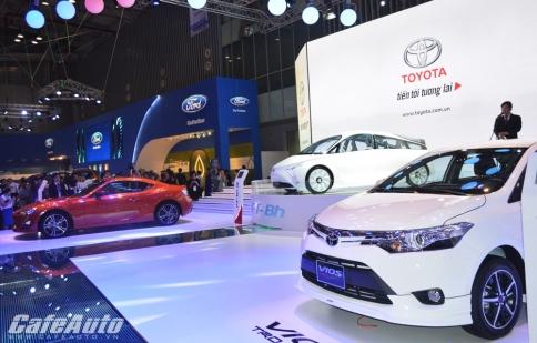 Toyota Việt Nam lên kế hoạch bán 46.000 xe trong năm 2015