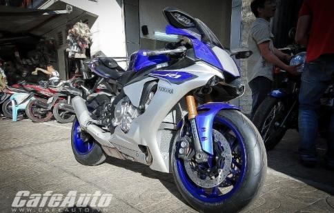 Giá 700 triệu đồng, siêu motor Yamaha YZF-R1 chính thức cập bến Việt Nam