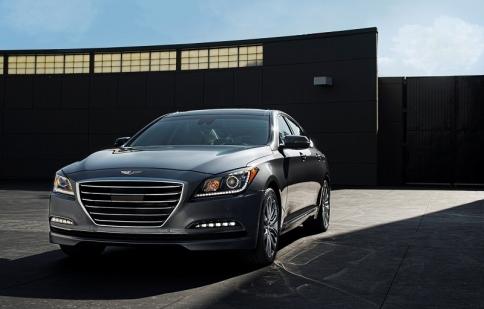 Hyundai gia tăng sức mạnh cho Genesis mới