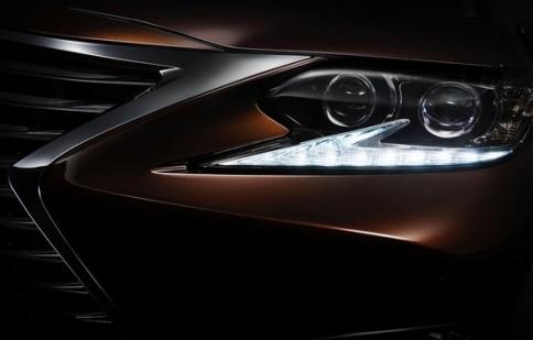 Lexus ES facelifted 2016 sẽ ra mắt tại Thượng Hải Motor Show