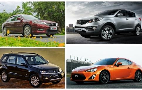 Những mẫu xe bán chậm nhất tháng 3/2015