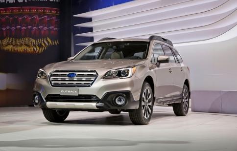 Cơ hội là người đầu tiên lái thử Subaru Outback 2015