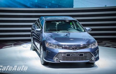 Nhiều cải tiến mới Toyota Camry 2015 có giá từ 1.078 tỷ đồng
