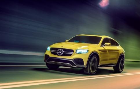 Mercedes Benz tung hình ảnh chính thức Concept GLC Couple