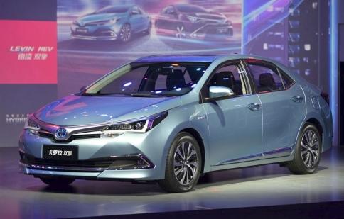 Toyota Corolla Hybrid khoe dáng hầm hố ở Thượng Hải