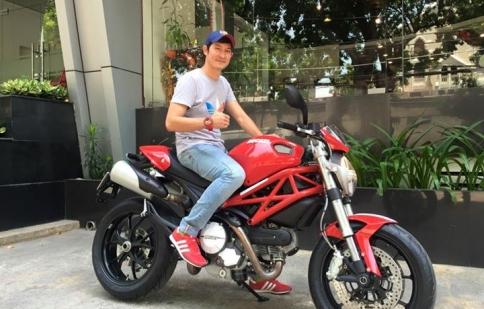 Chi tiết chiếc Ducati Monster 796 Huy Khánh mới tậu