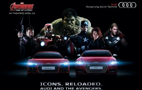 Soi dàn xe của biệt đội siêu anh hùng Avengers