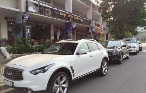 Trải nghiệm 3 dòng xe Infiniti tại Sài Gòn