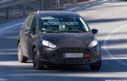 Ford bắt đầu thử nghiệm Fiesta 2017