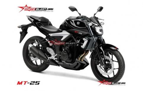 Xem trước Yamaha MT-25 sắp mắt tại Indonesia