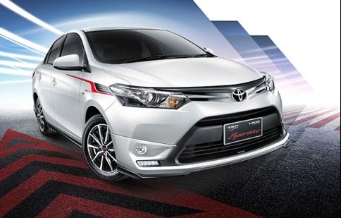 Toyota giới thiệu phiên bản TRD Sportivo cho Vios