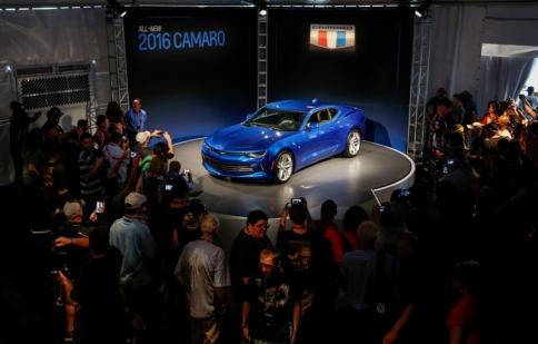 Siêu cơ bắp Chevrolet Camaro 2016 chính thức trình làng