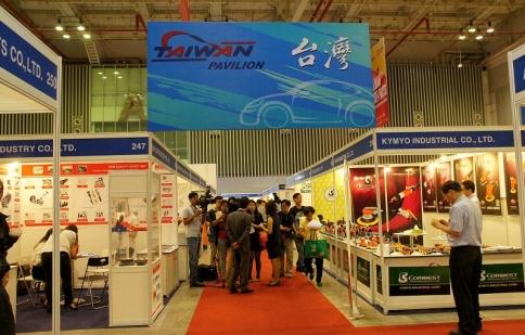 54 thương hiệu Đài Loan tham dự Saigon Autotech 2015