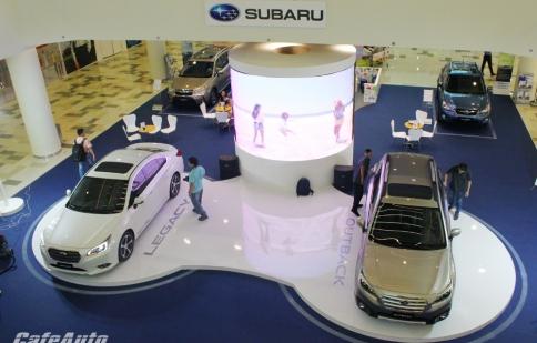 Cặp đôi Subaru Outback và Legacy 2015 ra mắt tại Việt Nam