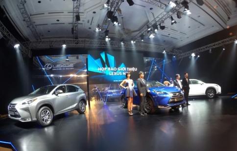 Trực tiếp: Lexus NX200t chính thức ra mắt tại Việt Nam