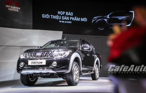 Soi chi tiết Mitsubishi Triton thế hệ mới vừa ra mắt