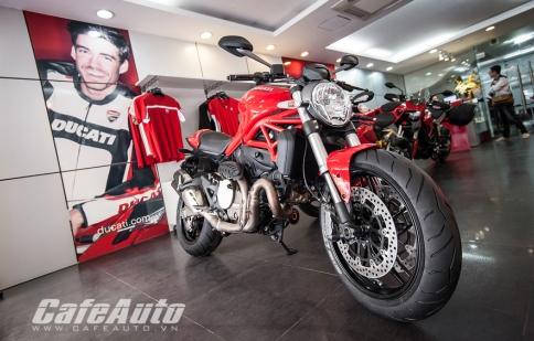 Cận cảnh Ducati Monster 821 vừa nhập trận tại Việt Nam