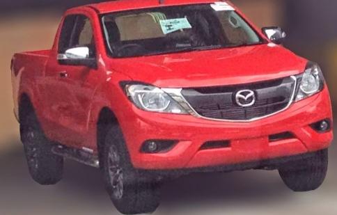 Rò rỉ hình ảnh Mazda BT-50 thế hệ mới