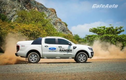 Ford Ranger tiếp tục thống lĩnh phân khúc bán tải