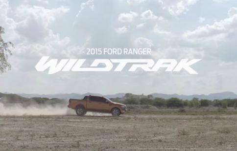 Ford Ranger Wildtrak 2015 cực ngầu trong video giới thiệu