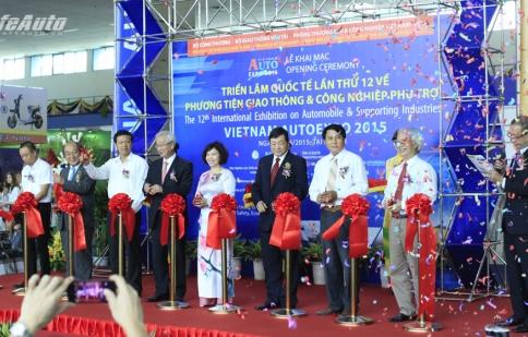 Khai mạc triển lãm Vietnam AutoExpo lần thứ 12