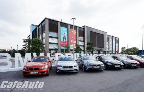 Sôi động với ngày hội lái thử xe BMW Driving Experience 2015