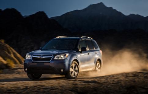 Subaru Forester 2016 giá từ 22.395 USD