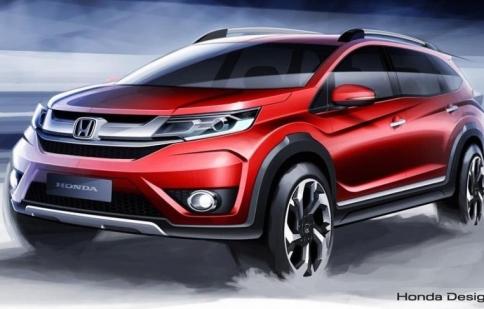 Honda sắp ra mắt SUV 7 chỗ BR-V dành cho Châu Á