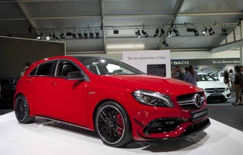 Mercedes-Benz trình làng A-Class phiên bản nâng cấp