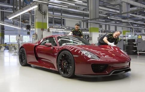Porsche chính thức ngừng sản xuất 918 Spyder