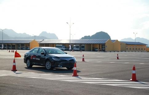 Toyota Việt Nam tiếp tục triển khai đào tạo lái xe an toàn