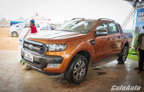 Chiêm ngưỡng Ford Ranger Wildtrak 2015 đầu tiên tại Việt Nam