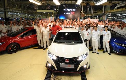 Lô Honda Civic Type R 2015 đầu tiên xuất xưởng