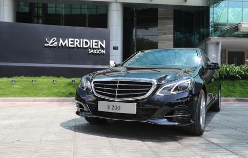 Merecedes-Benz bàn giao E 200 cho khách sạn Le Méridien Saigon