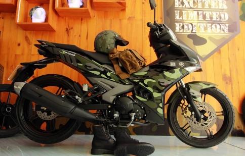 Yamaha Exciter 150 Camo chính thức ra mắt