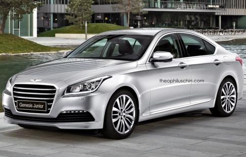 Hyundai muốn cạnh tranh với bộ ba Đức trong phân khúc D
