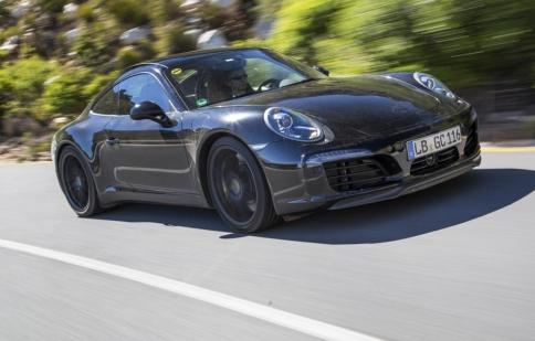 Porsche công bố hình ảnh Porsche 911 2016