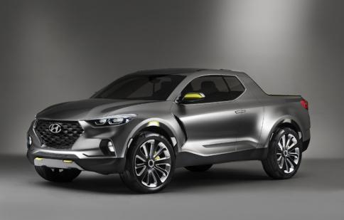 Hyundai muốn sớm tung ra dòng bán tải Santa Cruz