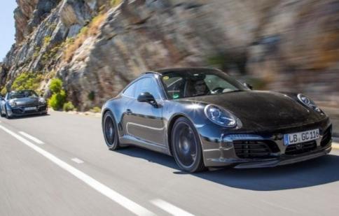 Porsche hé lộ thêm thông tin 911 phiên bản 2016