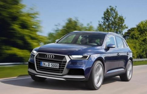 Audi Q5 2016 sẽ nhẹ hơn 100 kg