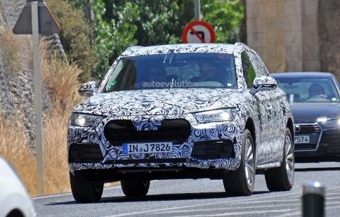 Audi Q5 mới sẽ soán ngôi của Mercedes GLC?
