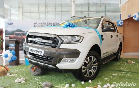 Ford Ranger 2015 ra mắt tại Việt Nam