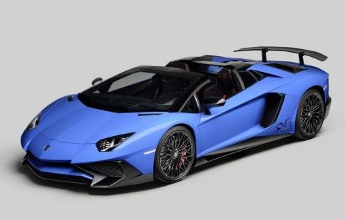 Lamborghini Aventador SuperVeloce roadster lộ diện