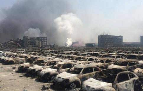 Vụ nổ tại Trung Quốc phá hủy hơn 8000 xe hơi
