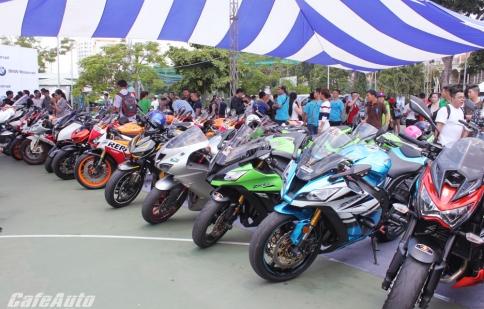 Xem đã mắt, nghe đã tai tại Lễ hội mô tô Việt Nam