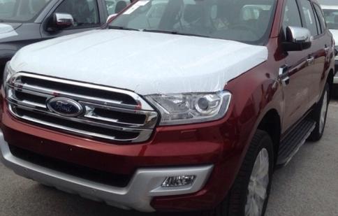 Ford Everest 2016 đã về Việt Nam