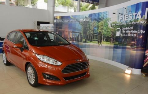 Ford Việt Nam triệu hồi hàng nghìn xe Fiesta